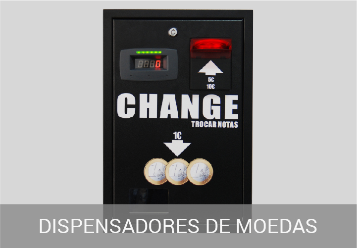 Dispensadores de Moedas